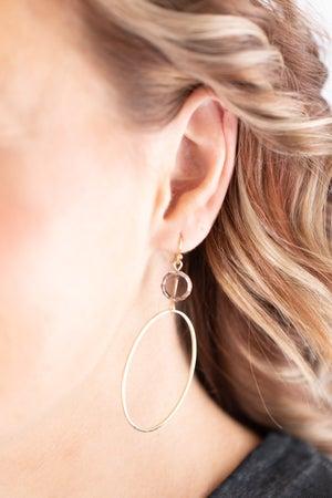 sku17764   Oval Dangle Earrings