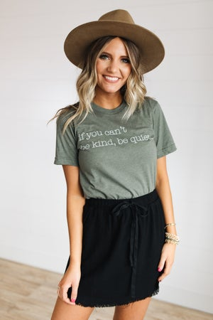 sku19155 | If You Can't Be Kind Graphic Tee