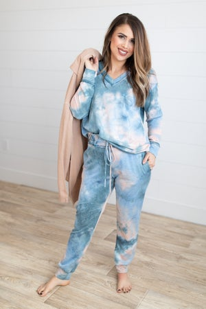 sku17638 | Tie Dyed Lounge Set