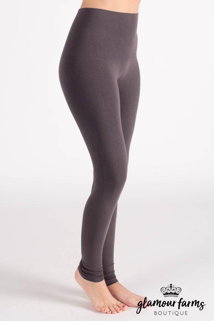 sku015m   Ahh-mazing Tummy Tuck Ankle Legging