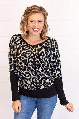 sku16856 | Animal Print Top