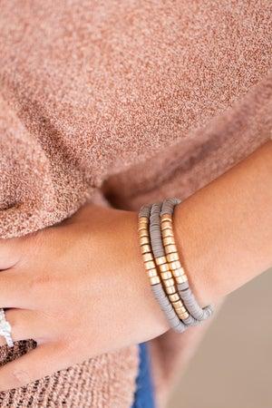 sku15787 | Rubber Bead Bracelet