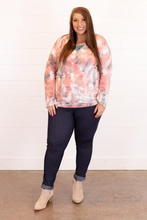sku16434 | Tie Dyed Lace Top