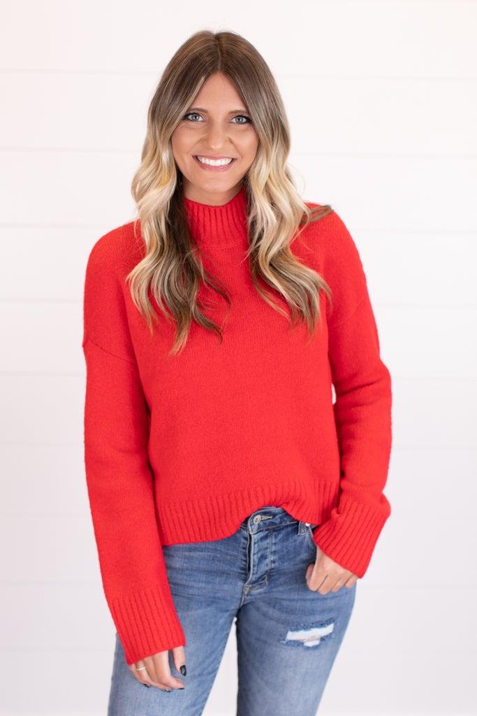 sku17472 | Mock Neck Sweater