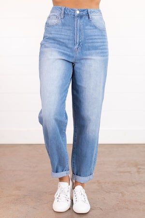 sku15907 | High Rise Mom Jeans