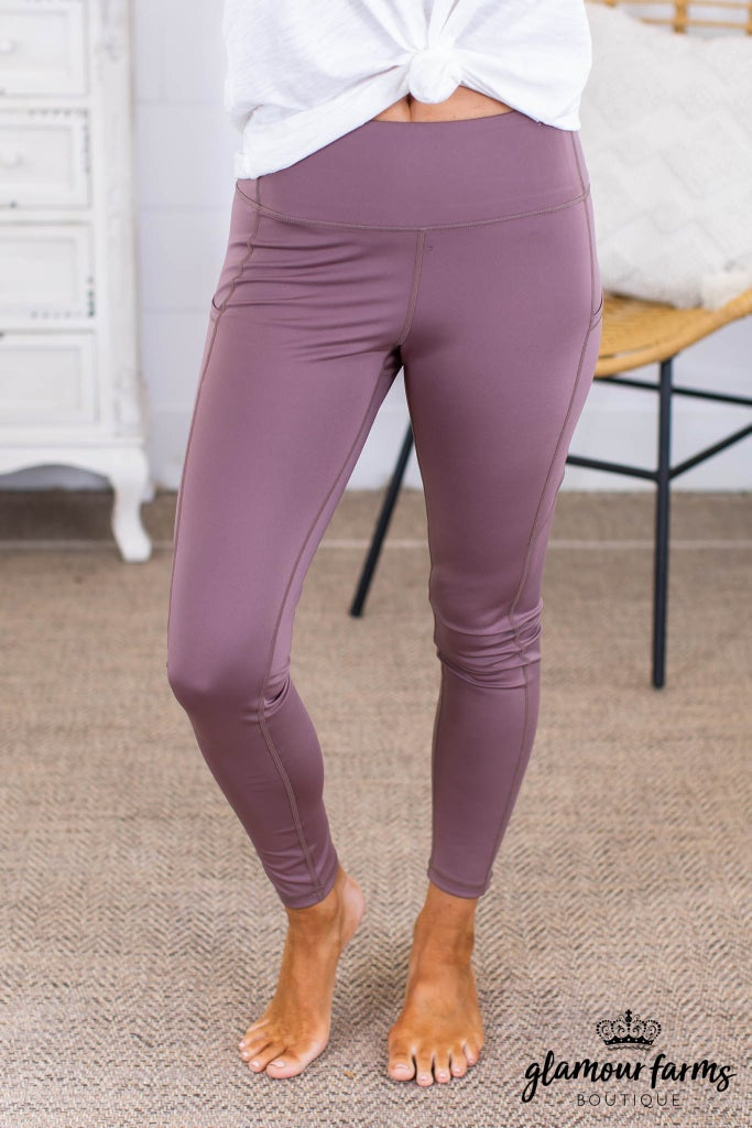 sku13815 | Side Pocket Active Leggings