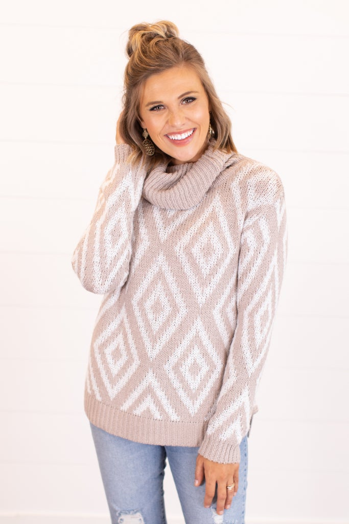 sku16636 | Fair Isle Diamond Sweater