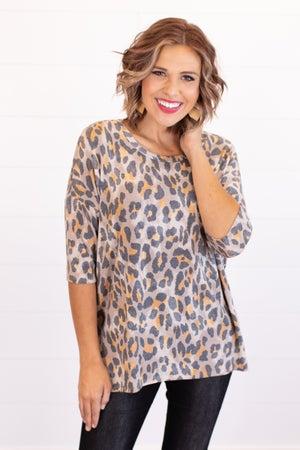 sku16720 | Animal Print Tunic