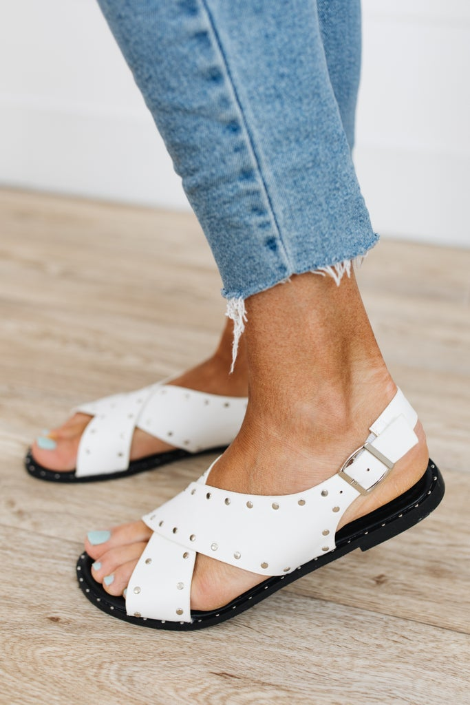 sku18737 | Studded Crossover Sandal