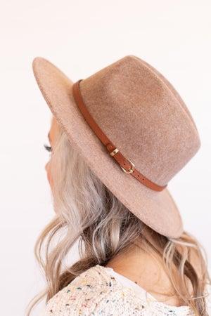 sku16966 | Belted Fedora Hat