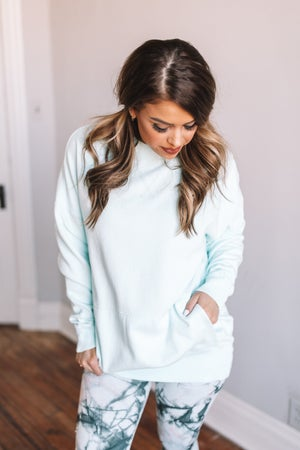 sku18849 | Mineral Washed Athleisure Pullover
