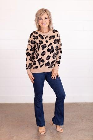 sku16056 | Animal Print Sweater