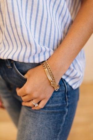 sku19331   Layered Mix Chain Bracelet