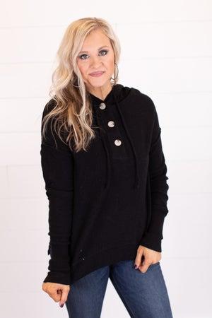 sku17509 | Drawstring Hooded Sweater
