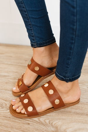sku19957 | Betty Studded Slide Sandal