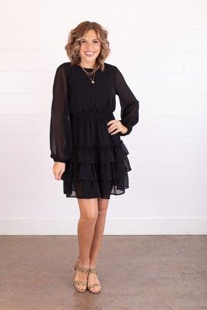sku16921 | Tiered Smocked Waist Dress