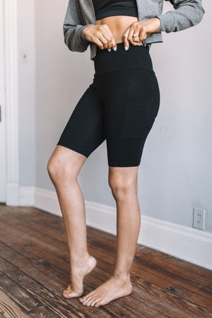 sku18767 | **Daily Deal** High Waist Active Shorts