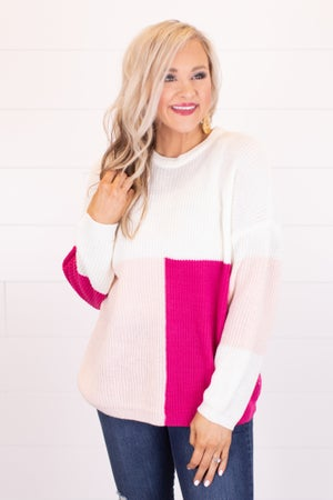 sku18047 | Color Block Sweater