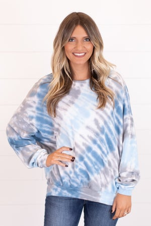 sku17100 | Tie Dyed Pullover
