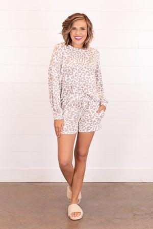sku16268 | Animal Print Loungewear Set