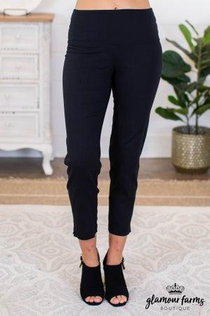 sku8891 | Wide Waist Woven Pants