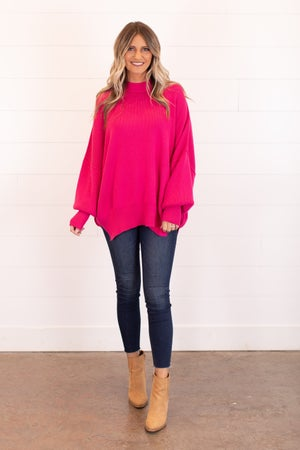 sku16308 | Oversized Tunic Sweater