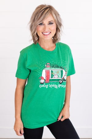 sku17584 | **DOORBUSTERS** Dashing Gnomes Graphic Tee