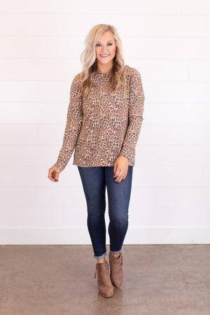 sku17578 | Animal Print Pullover