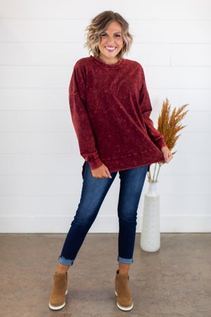 sku15214 | Mineral Washed Pullover
