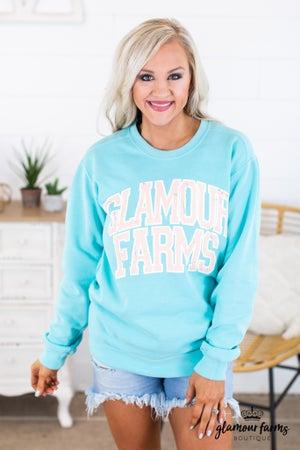 sku14717 | Glamour Farms Graphic Sweatshirt
