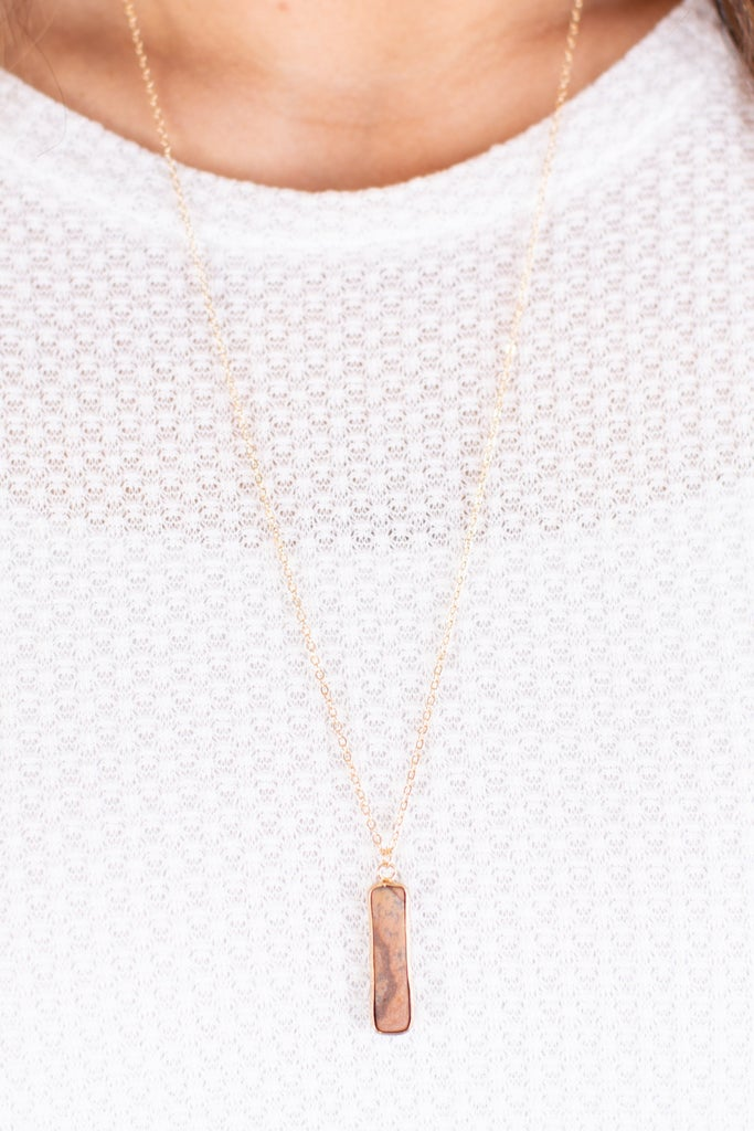 sku17249 | **Daily Deal** Natural Stone Pendant Necklace