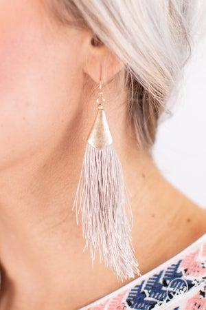 sku17304 | Fringed Dangle Earrings