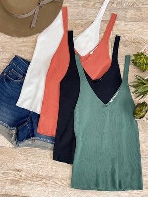 sku18360 | **Daily Deal** Cami Sweater Top