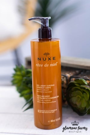 sku13989 | Nuxe Face And Body Cleansing Gel