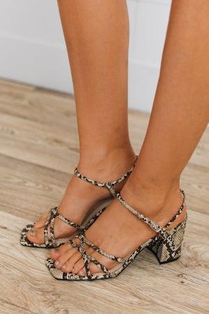 sku19193 | Strappy Block Heel Sandal