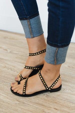 sku20636 | Campana Studded Strappy Sandal