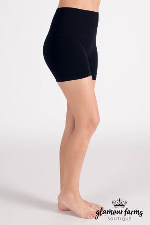 sku011m | Ahh-mazing Tummy Tuck Short Seamless Shorts