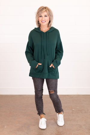 sku16606 | Side Slit Hooded Tunic