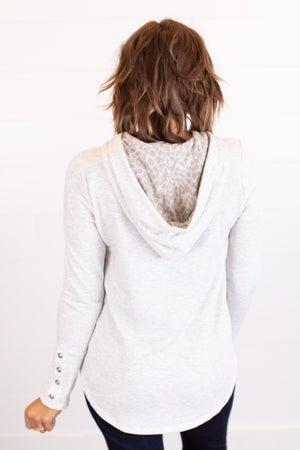sku16974 | Drawstring Hooded Top