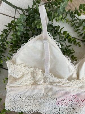 sku20265   Crocheted Lace Padded Bralette