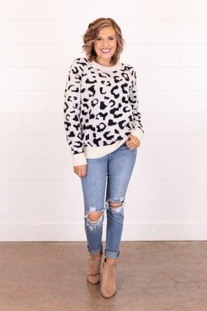 sku16984 | Animal Print Sweater
