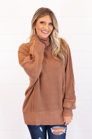 sku16031 | Oversized Turtleneck Sweater