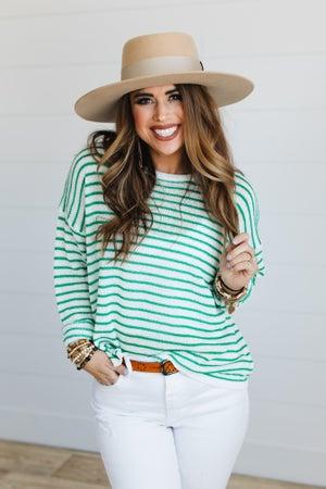 sku20104 | Lightweight Striped Sweater