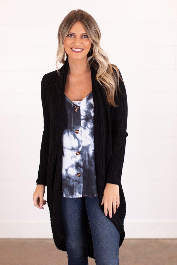 sku16654   Convertible Sweater Cardigan