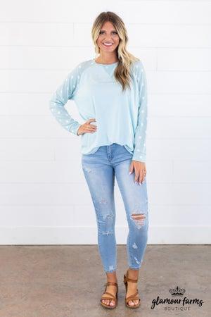 sku15115 | Distressed Skinny Jean