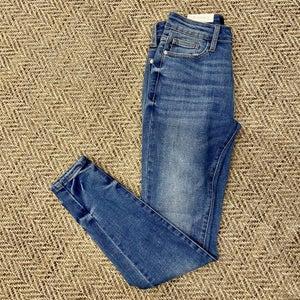 sku17538   Whiskered Skinny Jeans