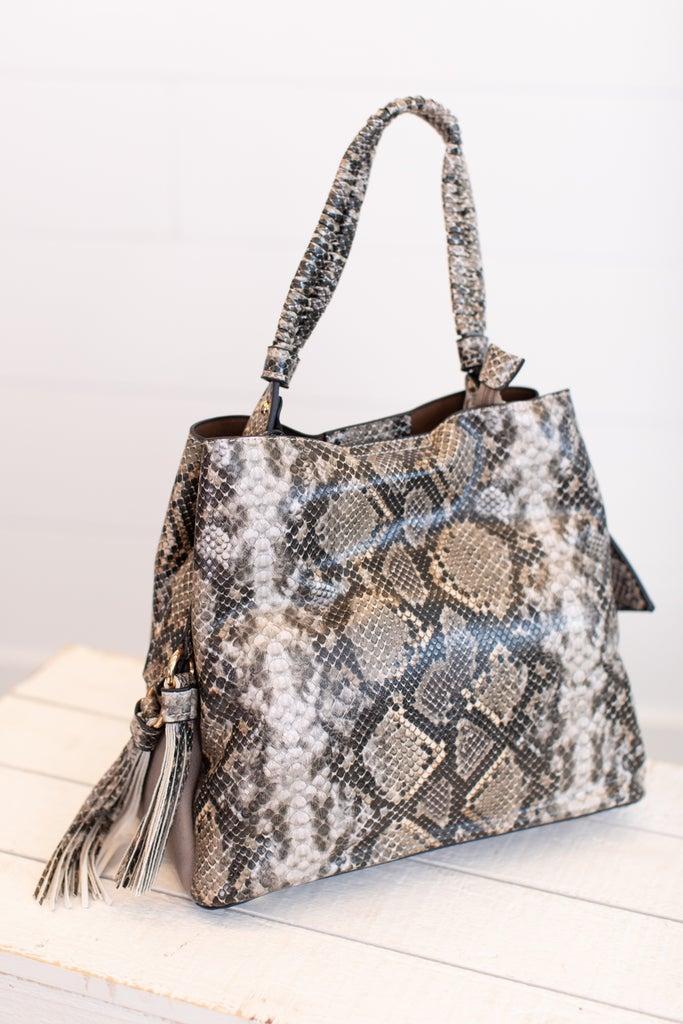 sku17172   Tassel Hobo Handbag