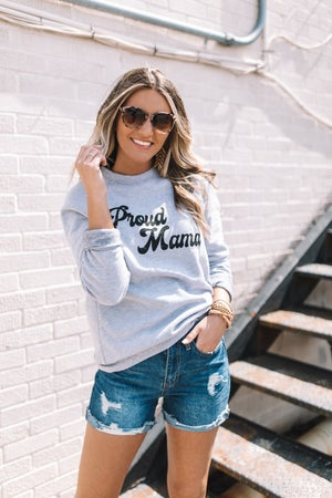 sku19547 | Proud Mama Graphic Sweatshirt