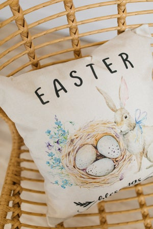 sku19375 | **Daily Deal**  Easter Pillow Cover