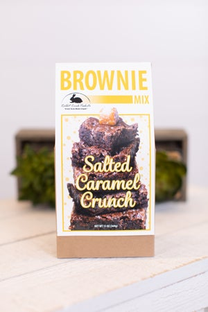 sku18019 | Salted Caramel Crunch Brownie Mix
